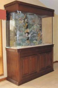 The aquarium has been dismantled and is ready for pick up!