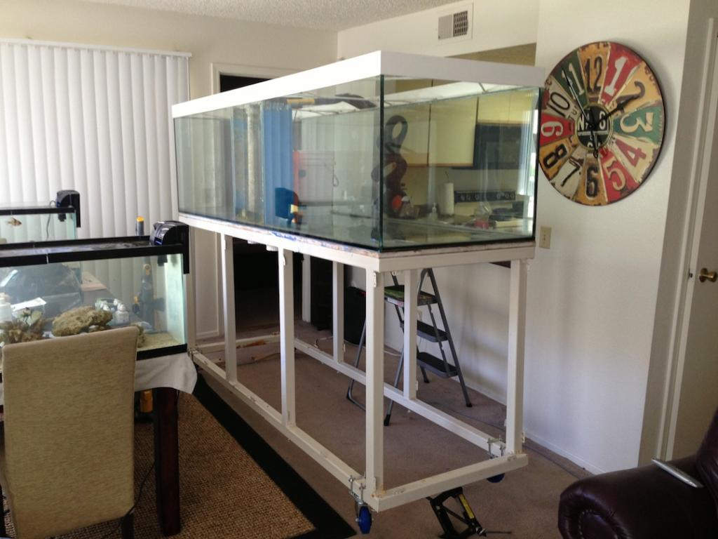 300gal Aquarium W Overflow And Stand 800 Mesa