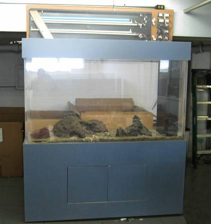 Giant aquariums tanks 300gal by trifisher page 6 for Craigslist fish tank