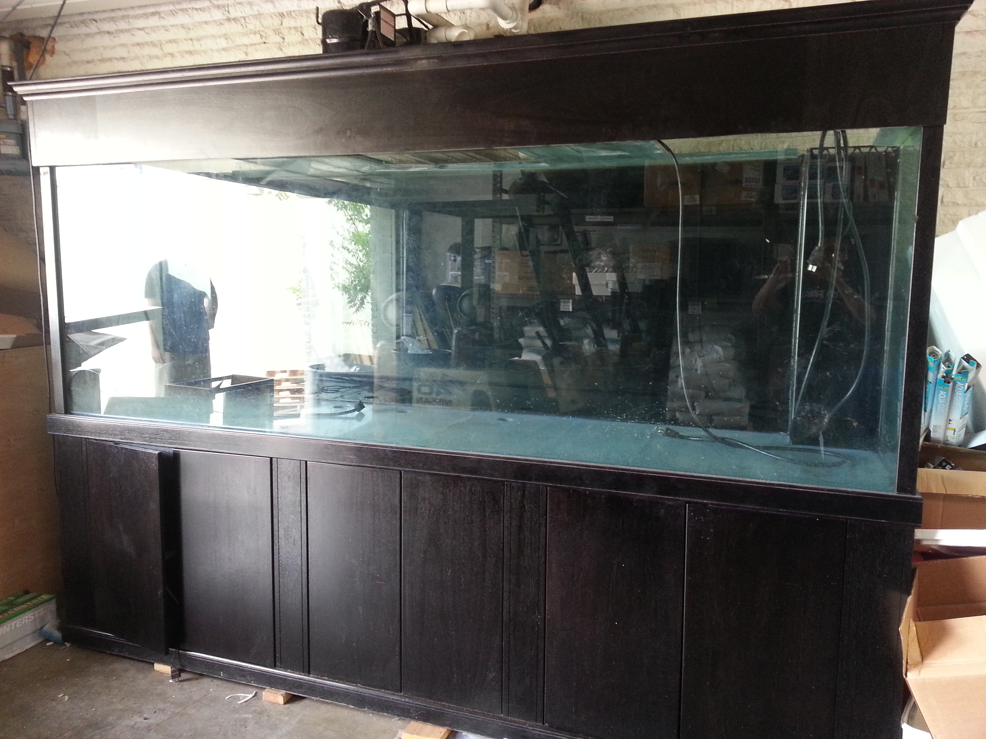 Giant aquariums tanks 300gal by trifisher page 15 for Free fish tanks craigslist