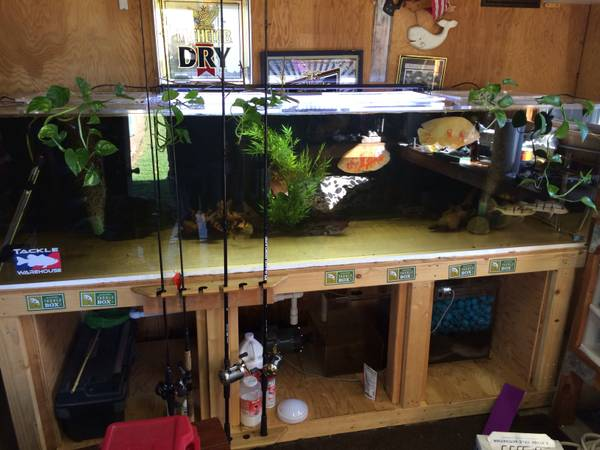 300 Gallon Tru Vu Aquarium Complete Set Up - $2000 (fremont / union city / newark, CA)