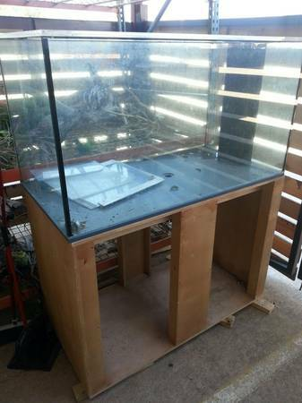 330 Gallon - Reef Ready Used Aquarium and Stand - $1500 (6500 N Lamar, Texas)