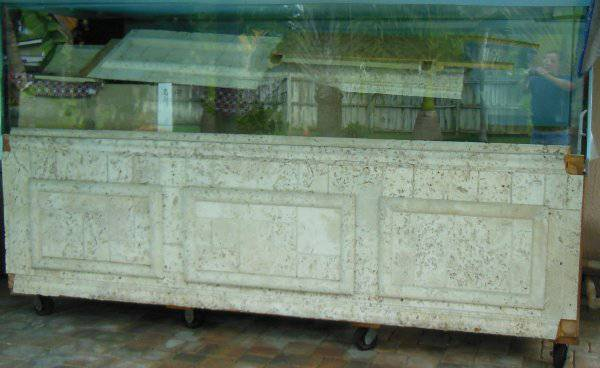 For Sale-750 Gallon Starphire Aquarium with Stand & Sump - $3600 (Melbourne Beach, Fl.)