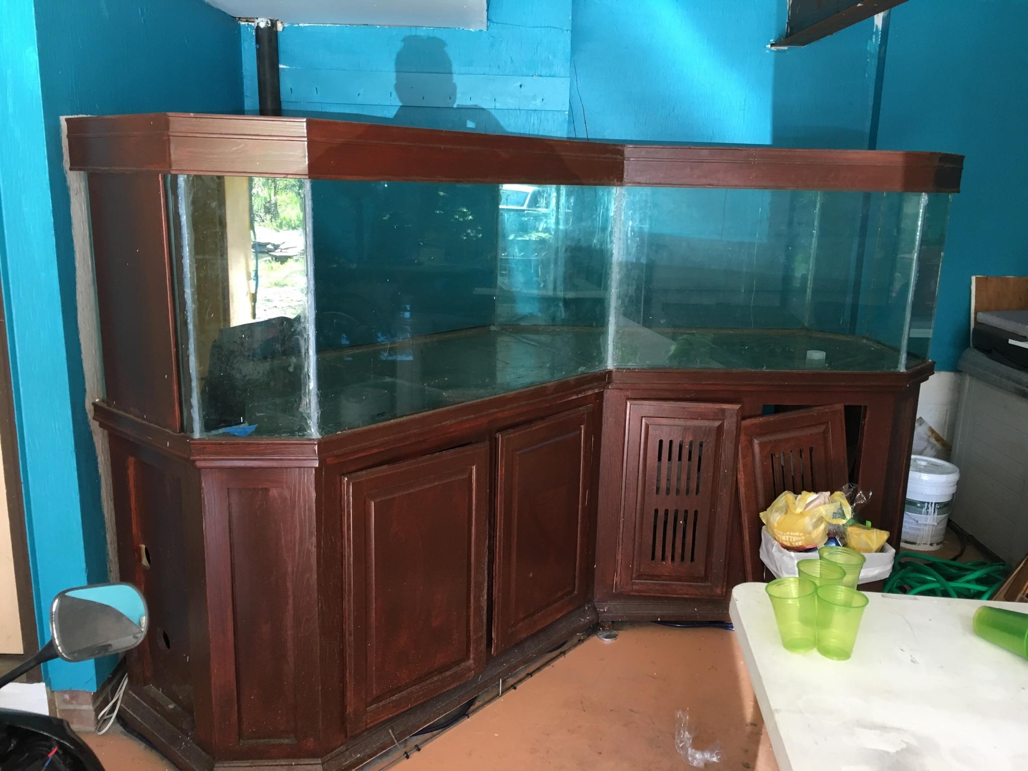 500 gallon aquarium 1000 mantua ohio giant aquariums for Craigslist fish tank